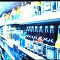 Üveggyűjtő kampány az áruházakban