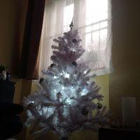 #christmas #tree #white