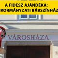A Fidesz ajándéka: Önkormányzati bábszínház