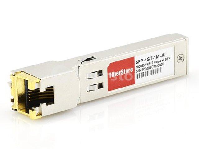 SFP 1000BASE-T Copper 100m Reach on UTP JX-SFP-1GE-T Juniper Compatible Transceiver Module