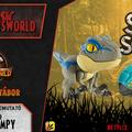 Jurassic Newsworld: Termékbemutató - Snap Squad Blue & Bumpy