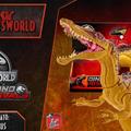 Jurassic Newsworld: Termékbemutató - Mega Dual Attack Suchomimus
