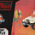 Jurassic Newsworld: A Dennis Nedry Getaway Pack
