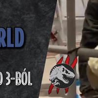 Jurassic Newsworld: Az első dinó a Jurassic World 3-ból!