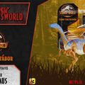 Jurassic Newsworld: Termékbemutató - Attack Pack Gallimimus