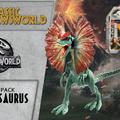 Jurassic Newsworld: Termékbemutató - Dilophosaurus
