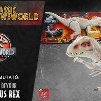 Jurassic Newsworld: Termékbemutató - Destroy 'N Devour Indominus rex