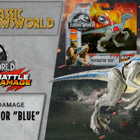 Jurassic Newsworld: Termékbemutató - Battle Damage Blue