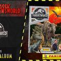 Jurassic Newsworld: Kiadványbemutató - Panini Jurassic World: Bukott birodalom matricás album