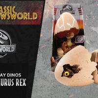 Jurassic Newsworld: Termékbemutató - Hatch 'N Play Tyrannosaurus rex