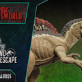 Jurassic Newsworld: Dino Escape - Az új Spinosaurus