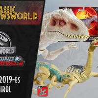 Jurassic Newsworld: A Mattel 2019-es figuráiról