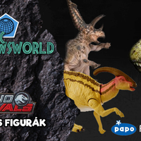 Jurassic Newsworld: Dino Rivals és más figurák
