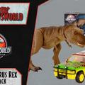 Jurassic Newsworld: Termékbemutató - Legacy Tyrannosaurus Rex Escape Pack