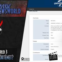 Jurassic Newsworld: Jurassic World 3 - A hivatalos történet?