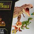 Jurassic Newsworld: Dino Escape - Mozgolódás az új figurák körül