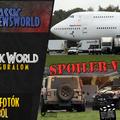 Jurassic Newsworld: Világuralom - Forgatási fotók Angliából