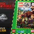 Jurassic Newsworld: Kiadványbemutató - Lego Jurassic World - Matricás album