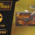 Jurassic Newsworld: Termékbemutató - Amber Collection Velociraptor Blue