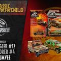 Jurassic Newsworld: Termékbemutató - Matchbox kisautók