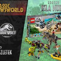 Jurassic Newsworld: Lego - Az új készletek