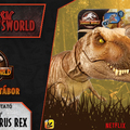 Jurassic Newsworld: Termékbemutató - Epic Roarin' Tyrannsaurus rex