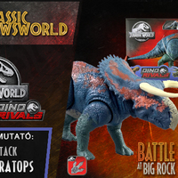 Jurassic Newsworld: Termékbemutató - Dual Attack Nasutoceratops