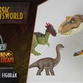 Jurassic Newsworld: Új Dino Escape figurák