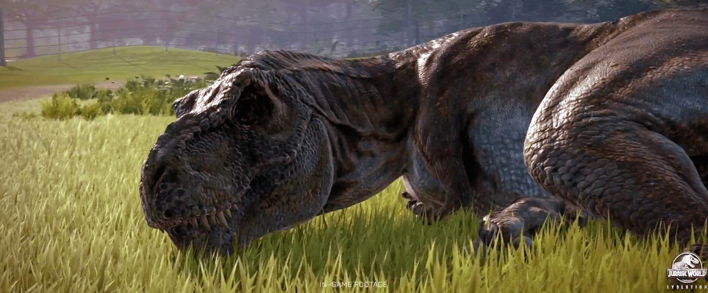 A T. rex-nek is szüksége van pihenőre!