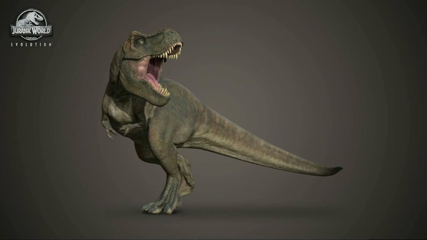 Így fog festeni a játékban a T. rex.