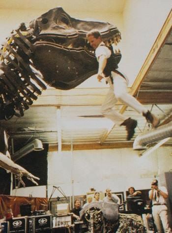 Stan Winston Tyrannosaurusai könnyen képesek lehettek volna emberélet kioltására is.