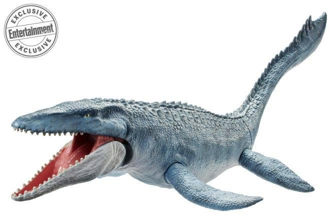 Az egyik, szó szerint nagy dobása lesz a gyártónak ez a gyönyörű kialakítású Mosasaurus, amelynek mérete szintén nem ismert, nincs mihez viszonyítani, de biztos jól fog mutatni bárki gyűjteményében. 29.99 dolláros fogyasztói áron lesz kapható.