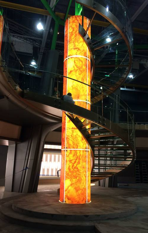 A lenyűgöző lépcsősor, akárcsak egy DNS lánc
