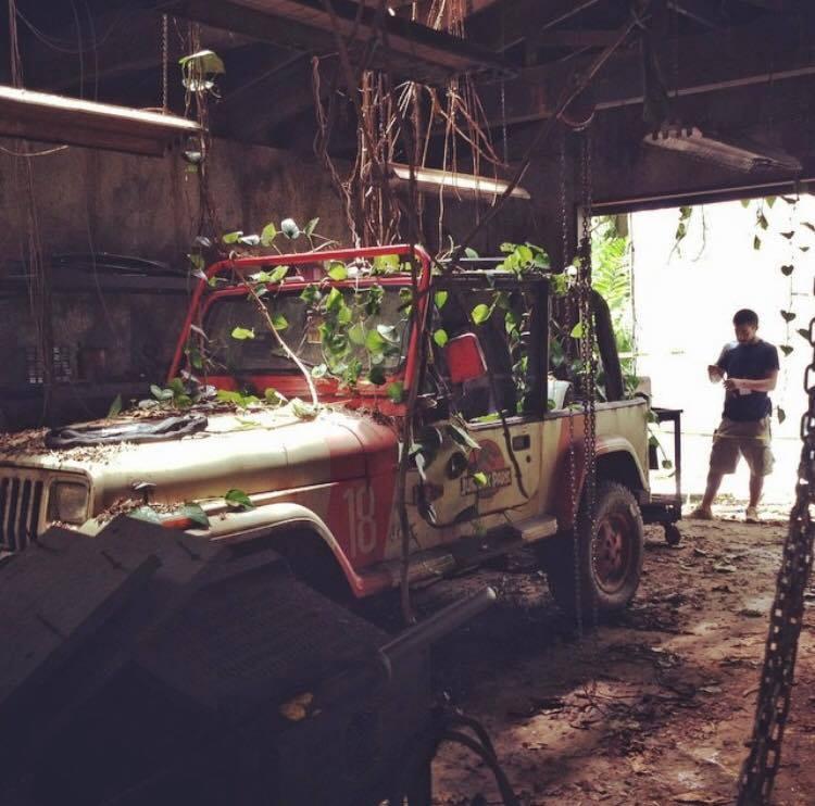 Az eredeti Jurassic Park jeep-je hangsúlyos szerepet kapott a folytatásban