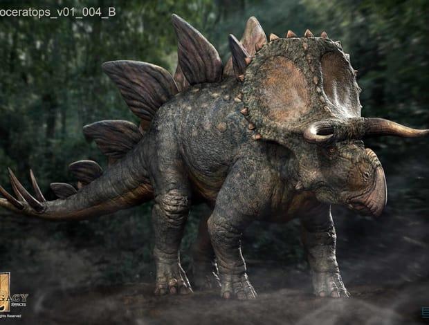 A Stegoceratops nevű hibrid felbukkanására végül még várni kell, ha egyáltalán láthatjuk 'élőben'
