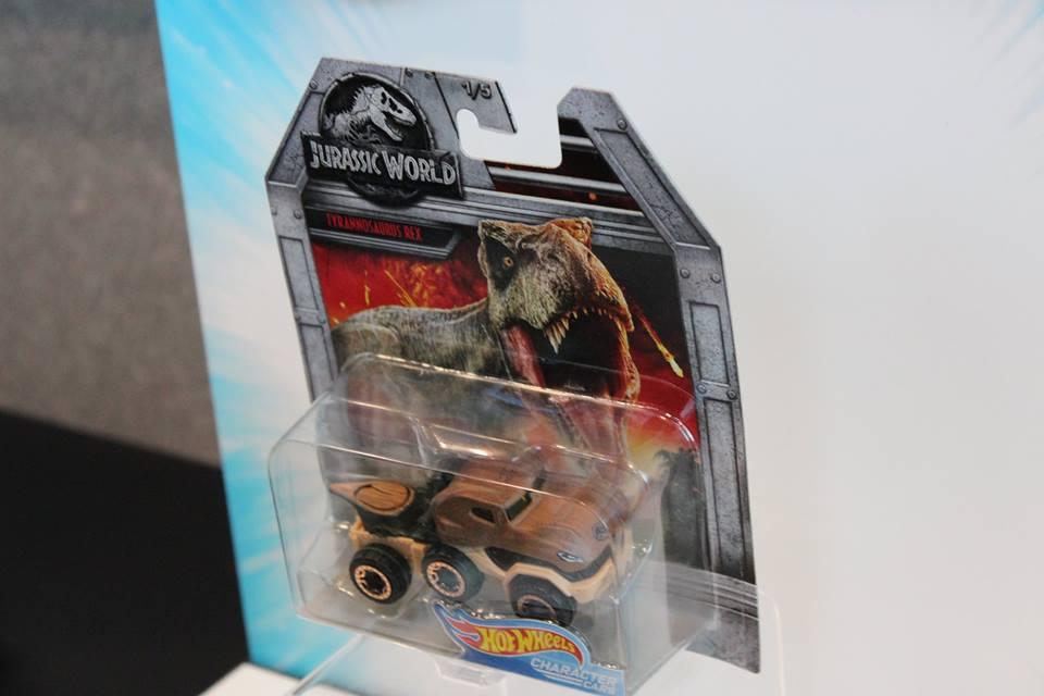 A T. rex jármű eredeti csomagolásában