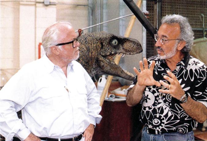 A Jurassic Park forgatásán Richard Attenborough-val is gyakran folytatott érdekes beszélgetéseket.