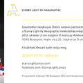 Program: Starry Light bemutató