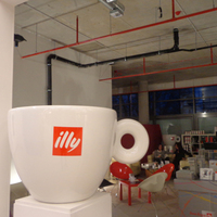 Illy pop-up store