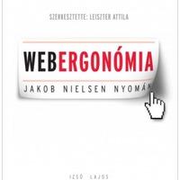 Új könyv, megjelent a Webergonómia!