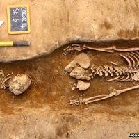 Az apácát arccal lefelé temették el