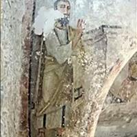 Szenzációs Szent Pál-freskó a nápolyi katakombában