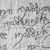 Kislányok pestis-graffitijára bukkantak