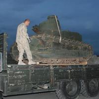 Hogy került az I. világháborús tank Afganisztánba?