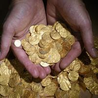 Hatalmas aranykincset találtak