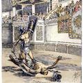 Gladiátor-iskola a határon