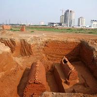 Kínai stílusú sírok Hanoiból