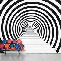 illúziók a falon