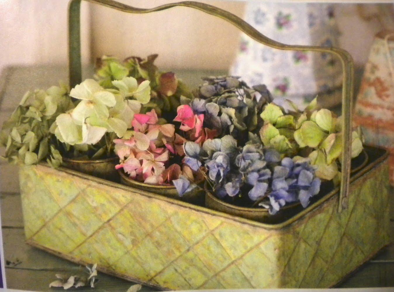 Hydrangeas in a metal basket.jpg