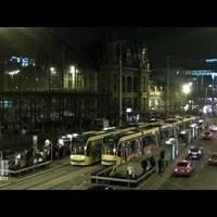 Budapest Timelapse - Nyugati tér - Karácsonyi tömeg (2012.12.22) FullHD 1080p